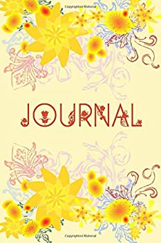 Paperback Journal Notebook Flowered Floral Design, 6x9 120 Pages : Lined Journal Notebook, Flowers Pattern Diary Composition Book, Great Floral Gift for Men, Women, Girls, Boys, Moms, Girlfriend, Family Book