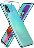 Spigen Liquid Crystal Kompatibel mit Samsung Galaxy A51 Hülle ACS00564 Transparent TPU Silikon Handyhülle Kratzfest Durchsichtige Schutzhülle Flex Hülle, LC Crystal Clear