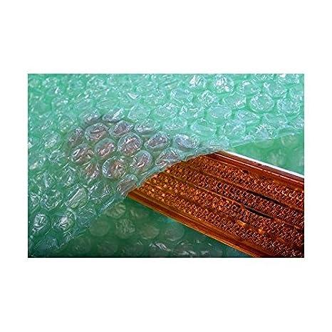 Biodegradable Plain Bubble Wrap Bags Pouches 65 x 65mm