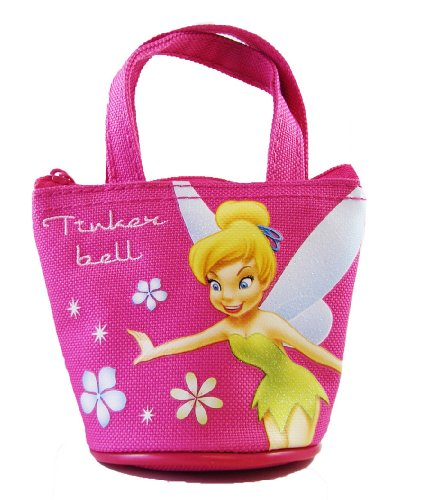 Disney Tinker Bell Mini Handbag - Tinkerbell Mini Purse Bag - Magenta