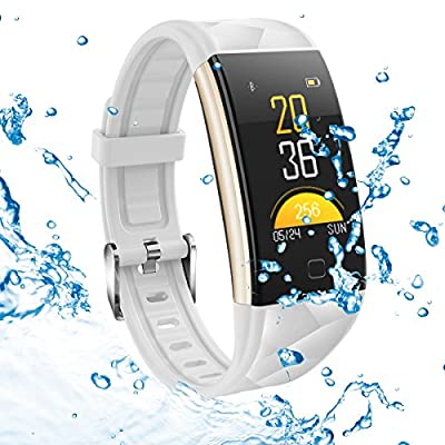 GTBonad Fitness Tracker Activity Tracker Heart Rate Monitor Blood Pressure Sleep Monitor Pedometer, 0.96 inch TFT Colorful OLED Screen Waterproof Bluetooth Smart Bracelet Iphone IOS Android