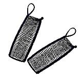 Lsydgn Pinzas para el cabello vintage banana Accesorio para el Cabello elástico Pinzas para el Cabello Banana Accesorio para el cabello retráctil con peine de plátano de 30 dientes 2 piezas