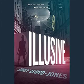 Illusive audiobook cover art