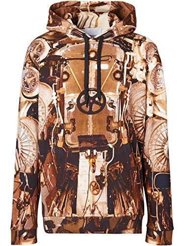 BURBERRY Luxury Fashion Herren 8024632 Braun Baumwolle Sweatshirt | Frühling Sommer 20
