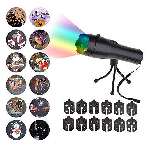 Bloomma Handheld Luces proyector 12 Diapositivas película