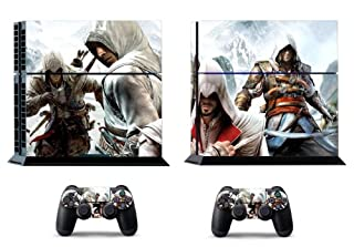 Assassin S Creed Black Flag Skin Sticker For Ps4 System