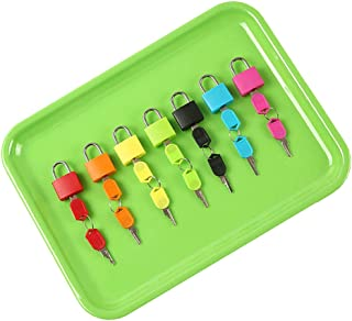 yotijay Montessori Color Matching Lock 7 Set, Color Locks And Keys Toy for Kids Babies