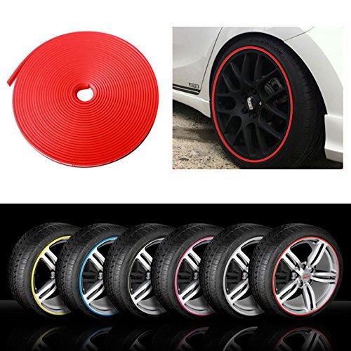 Protezioni Rimblade per bordi dei cerchioni in lega di auto, stampati in gomma