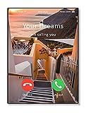 4Good Póster de motivación prémium, como decoración de salón, cuadro decorativo, dormitorio, juego de imágenes moderno para fitness, póster de motivación de gimnasio y comedor WBM5.3-A3