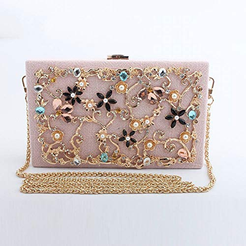 LQHSD Sobres con diamantes de aleación de florerías embrague monederos del sobre...