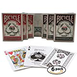 Bicycle Playing Cards World Series of Poker WSOP Cards 6 Deck Bundle 3