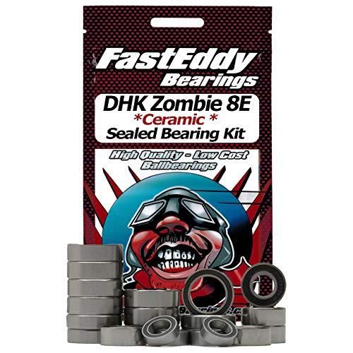 DHK Zombie 8E Ceramic Rubber Sealed Bearing Kit