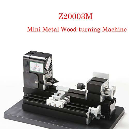 New Interesting 24 Watts Motor Mini Metal Wood-turning Machine For Hobby Modelmaking Wood-turning La...