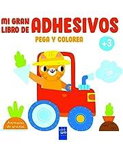 Animales de granja (Mi gran libro de adhesivos pega y colorea)