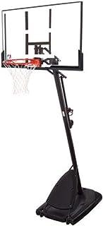 "Spalding- 54"" Polycarbonate Backboard NBA Portable Basketball System/Hoop -"