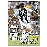 Vspgyf Ronaldo Juventus Poster Motivational Signiert