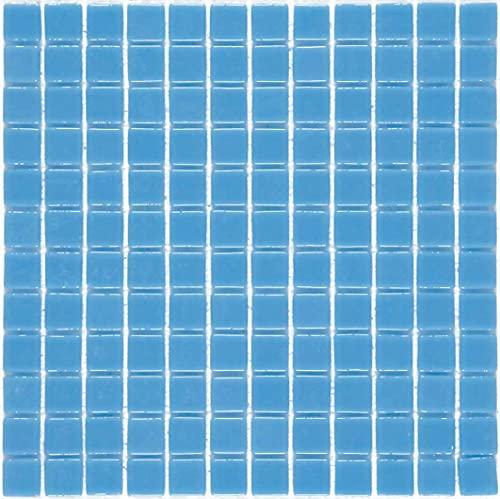 e-ceramica 8436028844135 Mosaico Cristal Azul