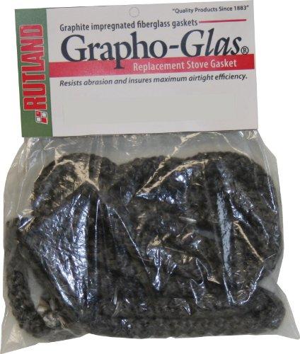 Rutland Produkte graphoglas Fenster Dichtung, schwarz