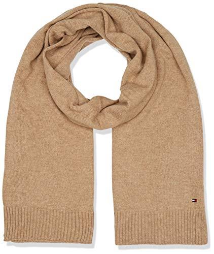 Tommy Hilfiger Damen Soft Knit (New ODINE) Schal, Braun (Classic Camel 258), One Size (Herstellergröße: OS)