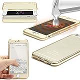 Urcover® LG G4   Funda Carcasa 360 Grados Ultra Slim Metálico   TPU en Oro Rosa   Case Cover Protección Completa Smartphone Móvil Accesorio