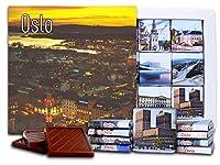 """DA CHOCOLATE キャンディ スーベニア """"オスロ"""" OSLO チョコレートセット 5×5一箱 (Evening)"""