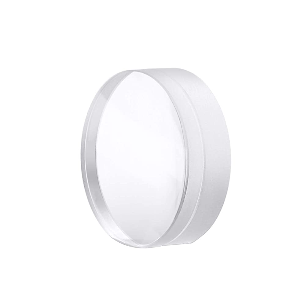 TEN-HIGH Compound Fiber Focusing Lens Dia 30mm,JGS1 Quartz collimating Lens for Fiber Laser Cutting/Welding Machines,FL: 100mm,1pcs biconvex + 1pcs Meniscus