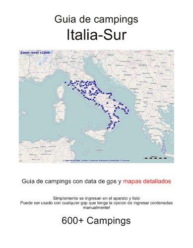 Guia de campings en ITALIA SUR (con data de gps y mapas detallados)