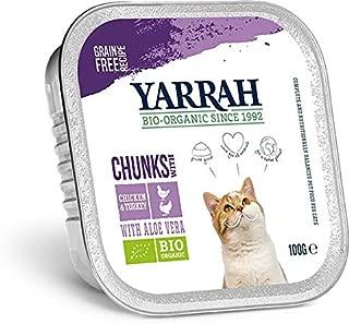 Yarrah Organic Chicken And Turkey Chunks Cat Food 100 G