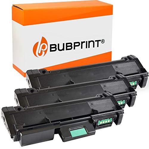 Bubprint Kompatibel Toner als Ersatz für Samsung MLT-D116L MLT-D116S MLT D116L D116S MLTD116S für Xpress M2625D M2675FN M2825ND M2876 M2835DW M2875FD Schwarz 3er-Pack