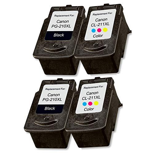 Cartuchos de tinta compatibles compatibles para impresoras Canon MP230, MP240, MP250, MP260, MP260, 2 sets