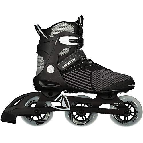 Firefly Herren Ff Alu 3X100 Skateboardschuhe, Grau (Grey/Black/White 900), 43 EU