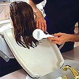 ATSALON Tragbar Haar Friseur Waschbecken Tablett Rückwärtswaschbecken Salon Barbier Haar Spülen Tablett mit Gurt zum die Behinderten, die Ältesten und die Schwangere Frau 18 x 13 inch