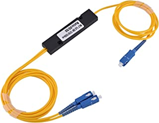 fosa Carrier-Class - Low Insertion Loss Convenient 1 to 2 Singlemode SC Optical Fiber Splitter Cable with SC-SC Connector