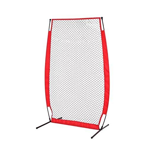 CuteLife Red de Práctica de Béisbol Red de Entrenamiento de la práctica de la práctica del softbol de béisbol portátil con la Bolsa compacta de Arco Duradero para el Camping del Patio