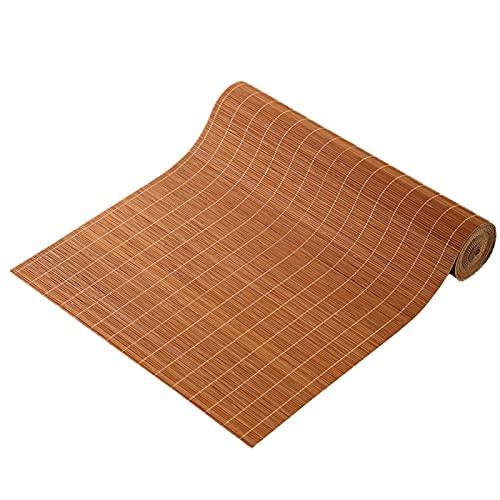 Caminos de Mesa Manteles Clásico Bambú Natural Estera de Té Práctico Cortable Mantel Individual para el Hogar para Cocina Sala de Estar/Mesa de Té Mesa de Centro, Estilo Japones Hecho a Mano