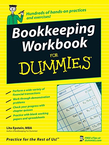 Compare Textbook Prices for Bookkeeping Workbook For Dummies 1 Edition ISBN 9780470169834 by Epstein, Lita