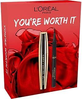 L'Oréal Paris, kit med mascara och eyeliner, Volume Million Lashes Gift Box, 1 styck
