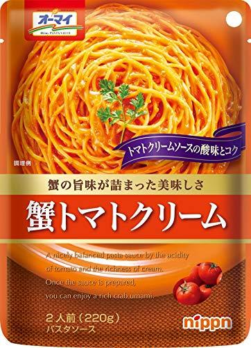 オーマイ 蟹トマトクリーム 220g ×6袋