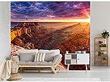 Fotomural Vinilo para Pared Caños en la Puesta de Sol | Fotomural para Paredes | Mural | Vinilo Decorativo | Varias Medidas 200 x 150 cm | Decoración comedores, Salones, Habitaciones.