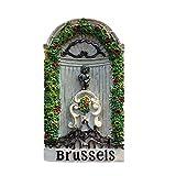 Chico de orina belga en Bruselas imán de nevera 3D artesanía recuerdo resina imanes de nevera colección regalo de viaje