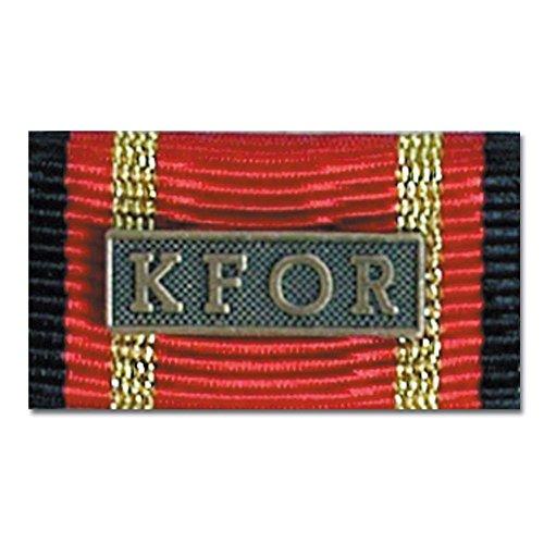 Ordensspange Auslandseinsatz KFOR bronze