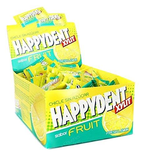 HAPPYDENT XYLIT FRUIT - SABOR FRESH LEMON - 200 UNID