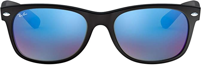 Ray-Ban RB2132 New Wayfarer Mirrored Sunglasses