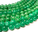 Grün Spot, Edelstein Achat Perlen Crackle Dragon Veins 12mm, Kugelform, Stein Perlen für Schmuck, 12 Stück G866