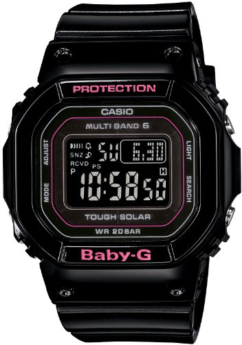 Casio Baby G Tripper, Tough Solar, Multiband 6 Damenarmbanduhr BGD - 5000-1JF (Japan Import)