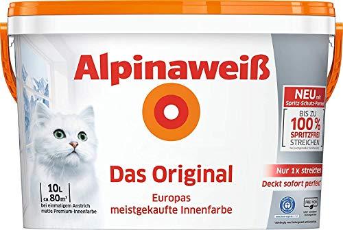 Alpinaweiß DO Spritz-Frei 10 Liter weiß