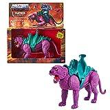 Masters of the Universe (Masters del Universo Orígenes) Figura Panthor, muñeco articulado de juguete con armadura (Mattel GVN49)