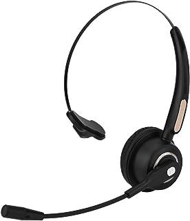 Auriculares con Micrófono, Auriculares Bluetooth con Cómodos Auriculares con Cancelación de Ruido para Call Center para PC Teléfono de Escritorio