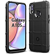 Sucnakp for Galaxy A10S Case Galaxy M01S Case Samsung M01S Case Samsung A10S Case Heavy Duty Shock Absorption Phone Cases Impact Resistant Protective Cover for Samsung Galaxy A10S Case(New Black)