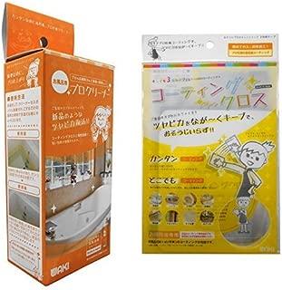 WAKI 3年美キープ お風呂用プロクリーナー 40ml CLN004 コーティングクロスセット